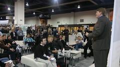 CES Chris Brogan Crowd at American Express Open Forum