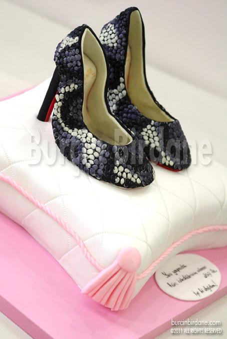 Christian Loubouttin Shoe Cake