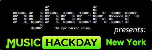 NYHacker Presents Music Hack Day New York Logo