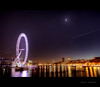 Jubilee Bridge (In Memory Lane~) Tags: bridge england moon london eye night stars long exposure mark waterloo ii 5d hdr 24105mm 24105l