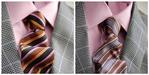 Pink Shirt Ties Mosaic