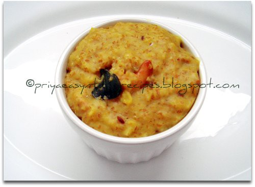 Cracked Wheat & Masoordal Pongal