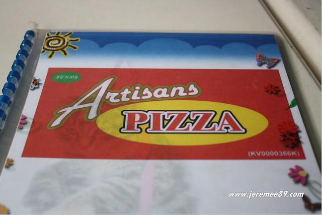 Artisans Pizza @ Langkawi - Menu