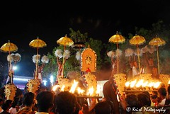 Night festival in Kerala. -  (December 29, 2009)
