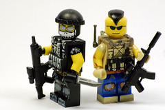 Ghost & Soap [Explored] (Saint_Zvlkx) Tags: lego hazel custom favela brickarms modernwarfare2 amazingarmory tinytactical