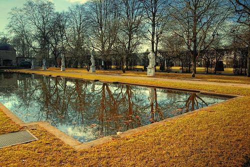 Trier Palastgarten HDR