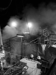 industrial chill (ddowdell) Tags: working samsung nightshift steam rig oil nv7