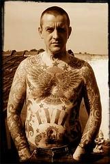 Kings of Kings tattoo. (norberaren iraultza) Tags: tattoo skinhead evilconduct