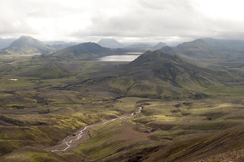 Descent to Álftavatn