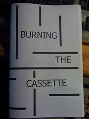 Image for Burning the Cassette by Anonymous by Anonymous by Anonymous