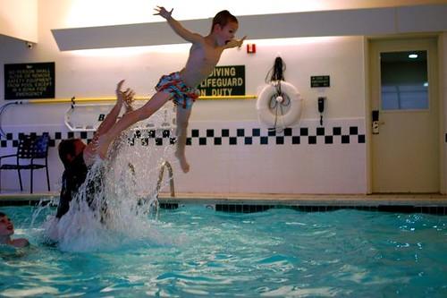 pool landing