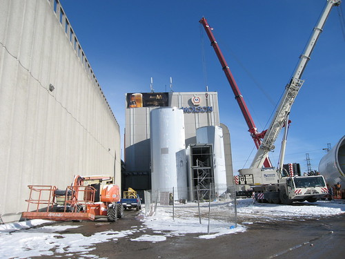 Molson Coors Brewery Fermentor Installation 018