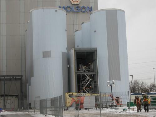 Molson Coors Brewery Fermentor Installation 027