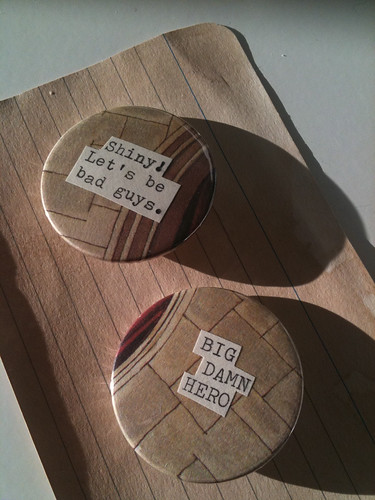 Book pages badges
