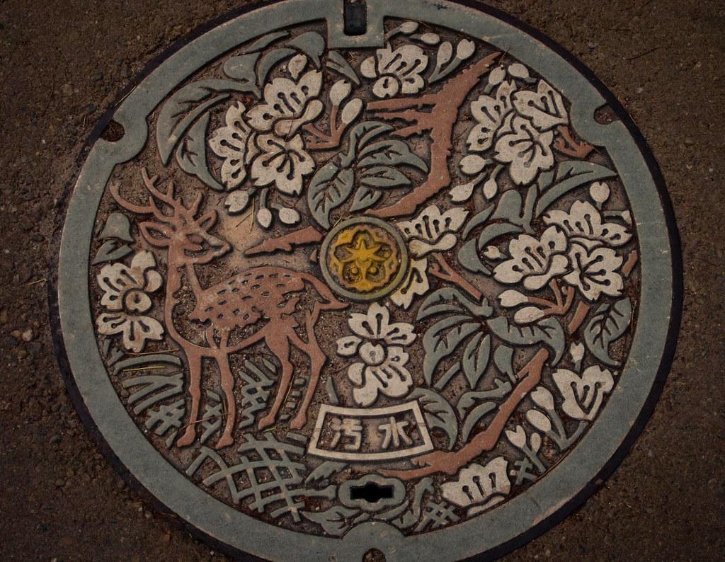 Drain cover - Nara city