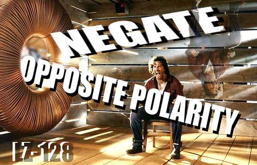 NEGATE - OPPOSITE POLARITY EXPLANATION