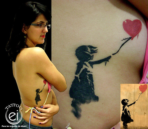 Re Banksy Tattoo Post by admin on Jan 22 2011 1123am Banksy Tattoo