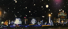 Fairytale night (Harlory) Tags: light snow fairytale night magic