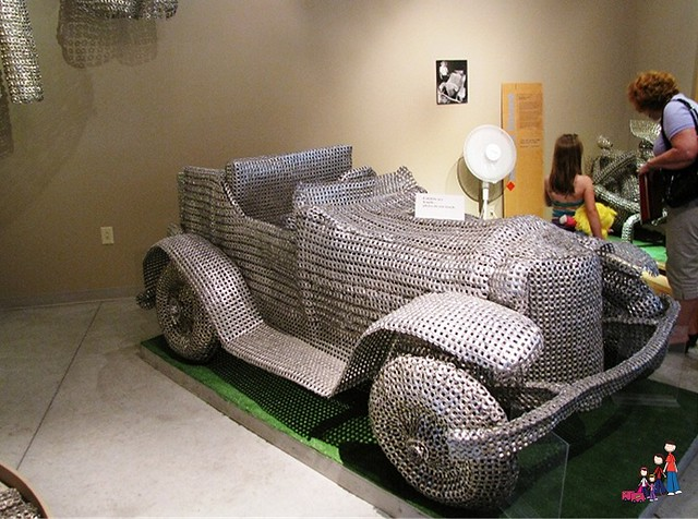 Aluminum Can Pull Tab Car