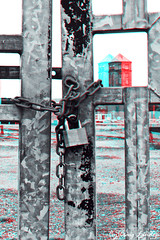 3D lock (craiggy13x) Tags: lighting new old uk light england art speed photoshop canon lens manchester fun photography photo 3d cool gate arty slow shot image cs2 photos pics lock good framed edited flash tripod ace fast pic x craggy filter photograph frame craig shutter locks editing framing dslr filters 13 lam edit speeds 2010 lenses slur cs3 cs4 irlam cs1 cs5 40d lindop canon40d craiglindop craiggy13x