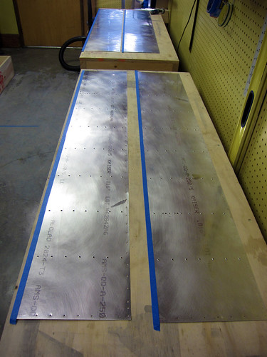 Aileron Skins Scuffed, Dimpled, and Masked