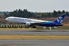 Asia Atlantic Airlines HS-AAB (Howard_Pulling) Tags: camera japan japanese photo nikon photos aircraft air picture april nippon airlines narita naritaairport 2014 howardpulling d5100