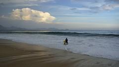 Copacabana Beach (alobos Life) Tags: brazil praia beach rio brasil clouds de landscape outdoors mar sand janeiro body candid playa paisaje arena nubes chico