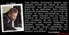 Farid-Gabteni-citation17 (Farid Gabteni) Tags: faridgabteni islam savantsmusulmans science coran