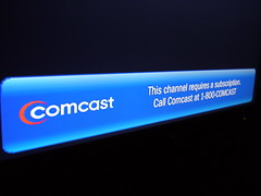 Comcast: This channel requires a subscription