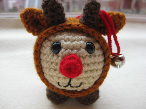 Baby Rudolph the Red-nosed Reindeer Ornament and Toy