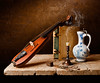 Still Life with Delft Jug (kevsyd) Tags: pochette stilllifephoto kevinbest dutchstilllife deltjug