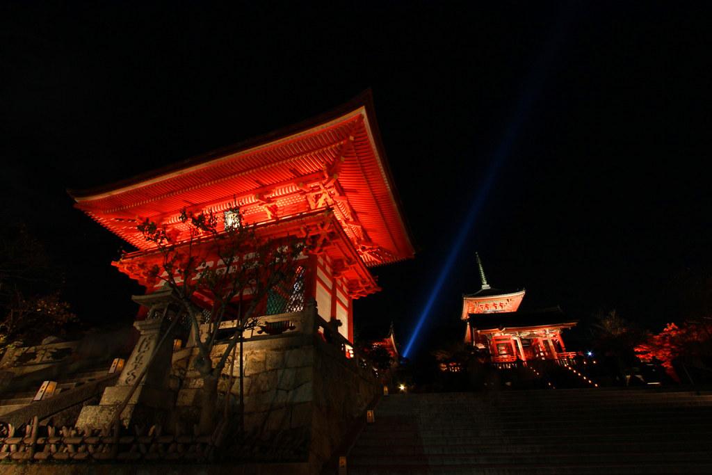 Kiyomizu-dera Illumination 2010  (1)