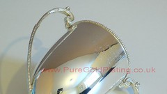 Silver Plated Antique Trophy c (PureGoldPlating) Tags: silverplated holloware antiquesilverware silverplating silverplatedtrophy antiquesilverrestoration