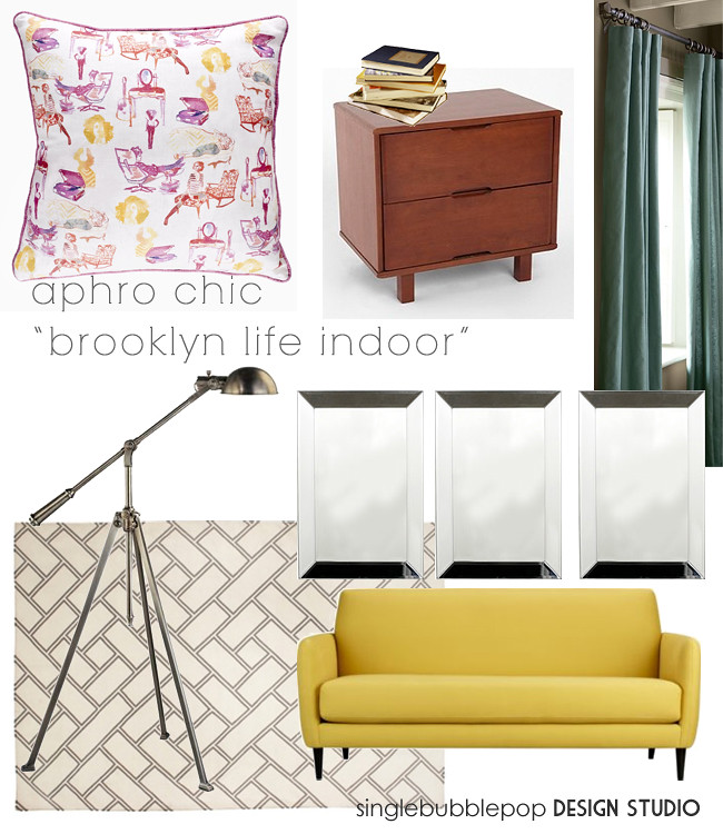 aphro chic pillow brooklyn life inside new collection cb2 calypso home rug urban outfitters lamps plus pottery barn drapes