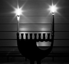 Festival of Lights - Chanukah First Night - By CogDogBlog