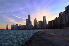 Land-Water-Sky (veryvinita) Tags: city sky urban chicago water skyline downtown lakemichigan sweep bigmomma thechallengefactory ultimategrind
