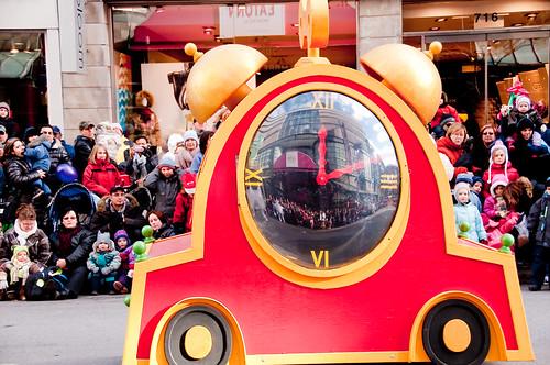 Milana's B-day - Santa Parade 394