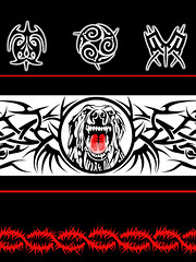 TRIBAL AS (Black Crown . tribal) Tags: