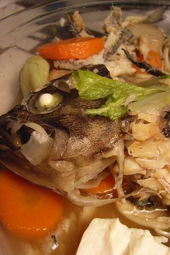 Simmered fish (kurosoi) - クロソイの煮付け