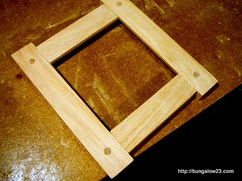 Tile Frame Assembled