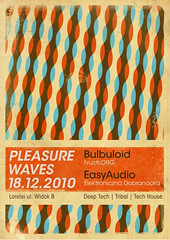 (tom april) Tags: party music color colour poster fun flyer dj december waves wave pleasure