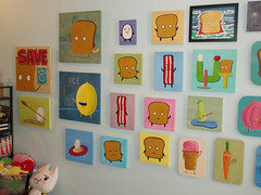 Mr Toast Holiday Art Show