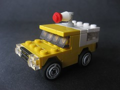 minigarage ~ Pizza Planet truck