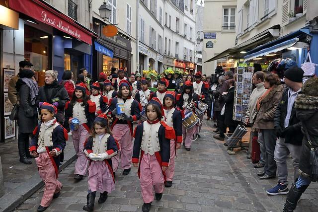 Catherinettes de Montmartre 2010 - Défilé (8743)