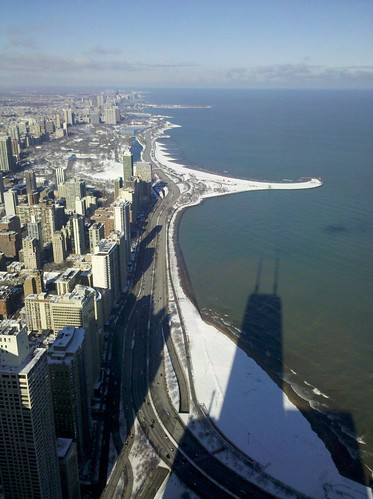 view with Hancock shadow