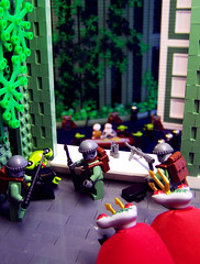 Peace is Bad for Business (Dave Shaddix) Tags: lego squidman squiddie