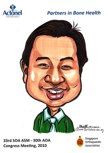 Caricatures for Sanofi-Aventis - 4