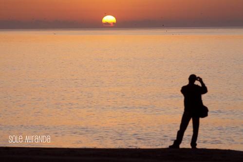 Amanecer playa Sole octubre 2010-5