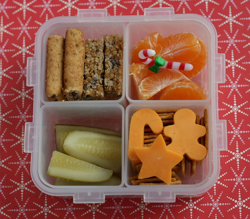 L&L Christmassy bento lunch