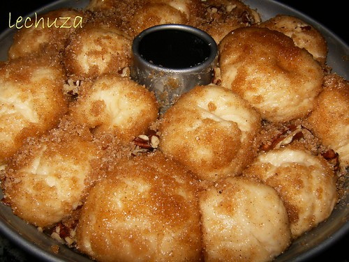 Monkey bread-2º levado